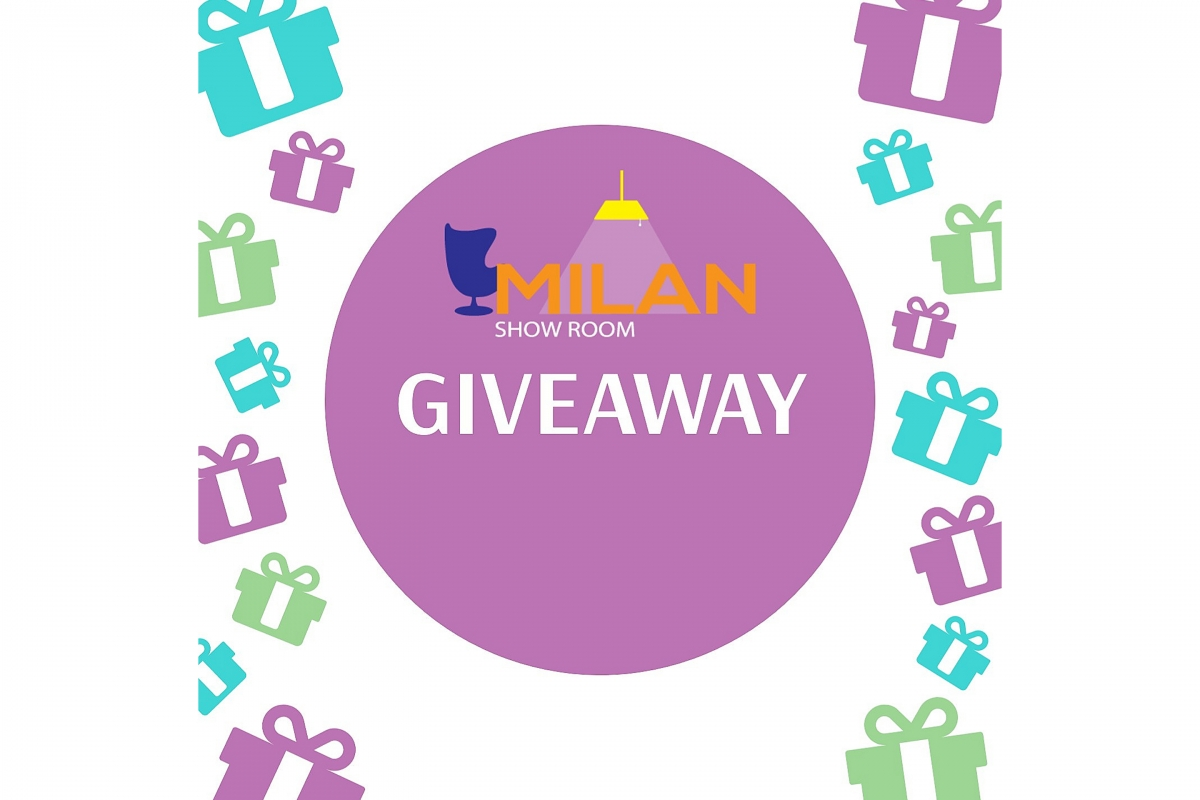 GIVEAWAY от Showroom MILAN